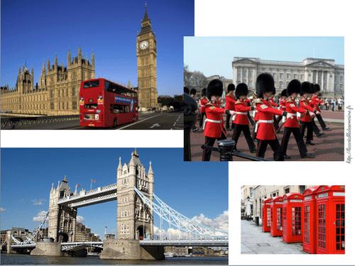 """Mes fiches """"Pays du monde"""" : Royaume-Uni"""