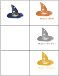 Classroom Capers : tampons thème sorciers ?