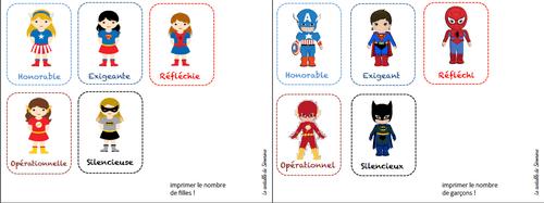 L'école des super héros