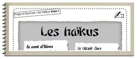 Projet d'écriture : le haïku