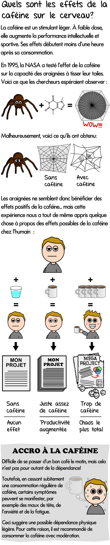 Effets de la caféine sur le cerveau et dépendance