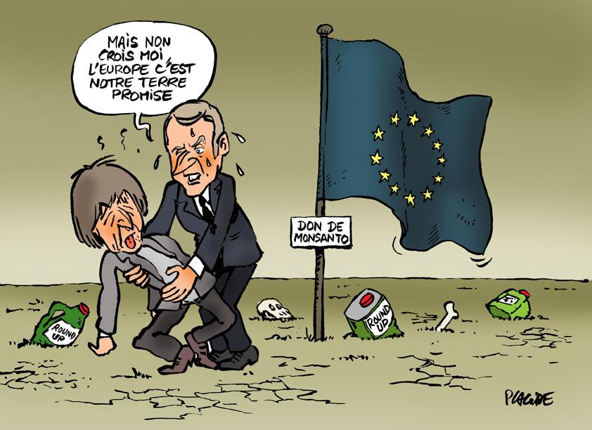Résultats de recherche d'images pour «macron hulot europe caricature»