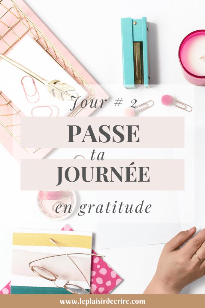 Il y a des choses pour lesquelles il faut être reconnaissant, même pendant les jours difficiles. En fait, c'est encore plus percutant lorsque tu découvres de petits rayons de lumière dans les moments les plus sombres. Tu peux réfléchir à tout ce qui t'inspire dans ta routine quotidienne. #gratitude #reconnaissance #Dieu #foi #Jesus #penseespositives #leplaisirdecrire #blogchretien