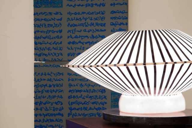 Dettagli lampada Hotel Italia