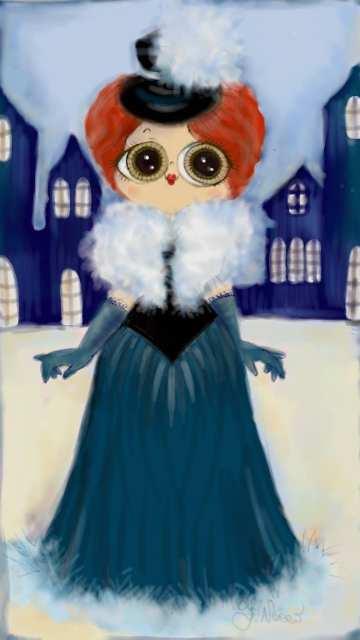 Dama - Madamoiselle Crayon - Le Plume