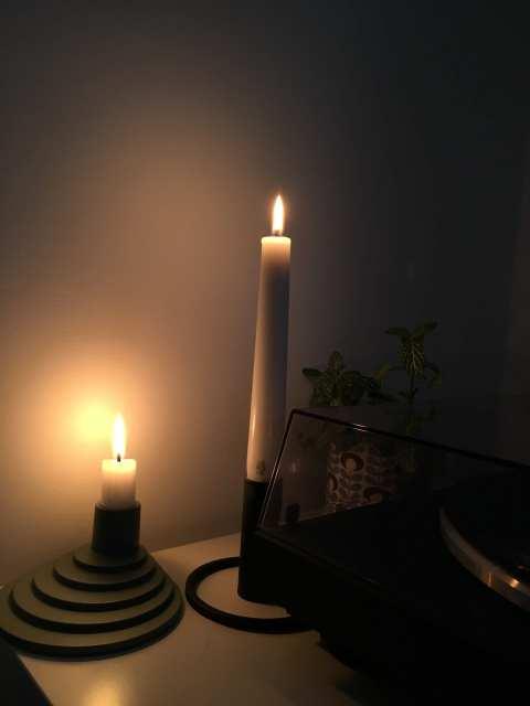 candele - novembre - le plume