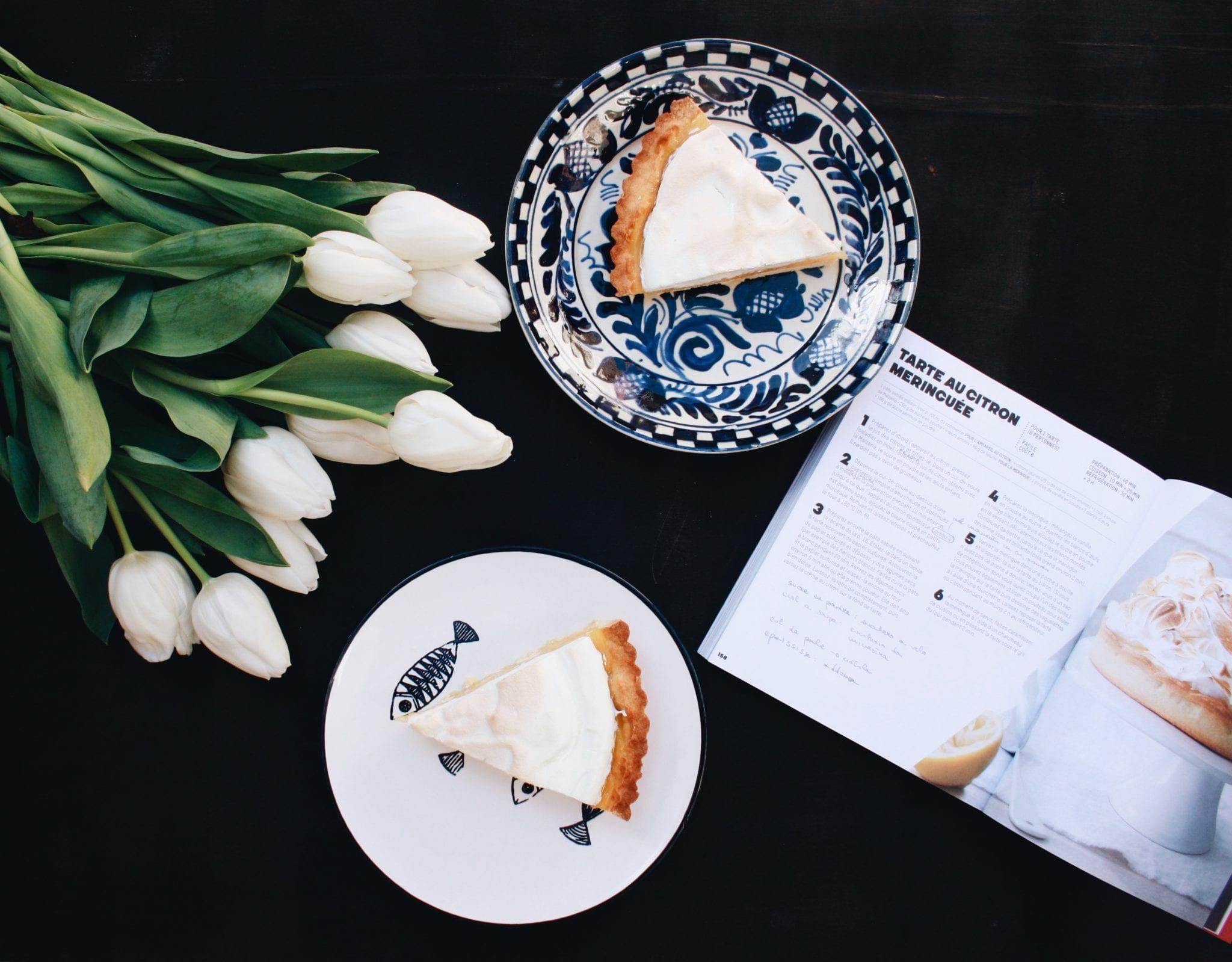 merenda con tarte au citron meringuée - Cuor di Biscotto - Le Plume
