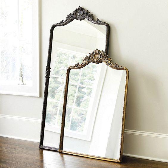 Vintage specchio ricciolo - wish list home edition - Le Plume