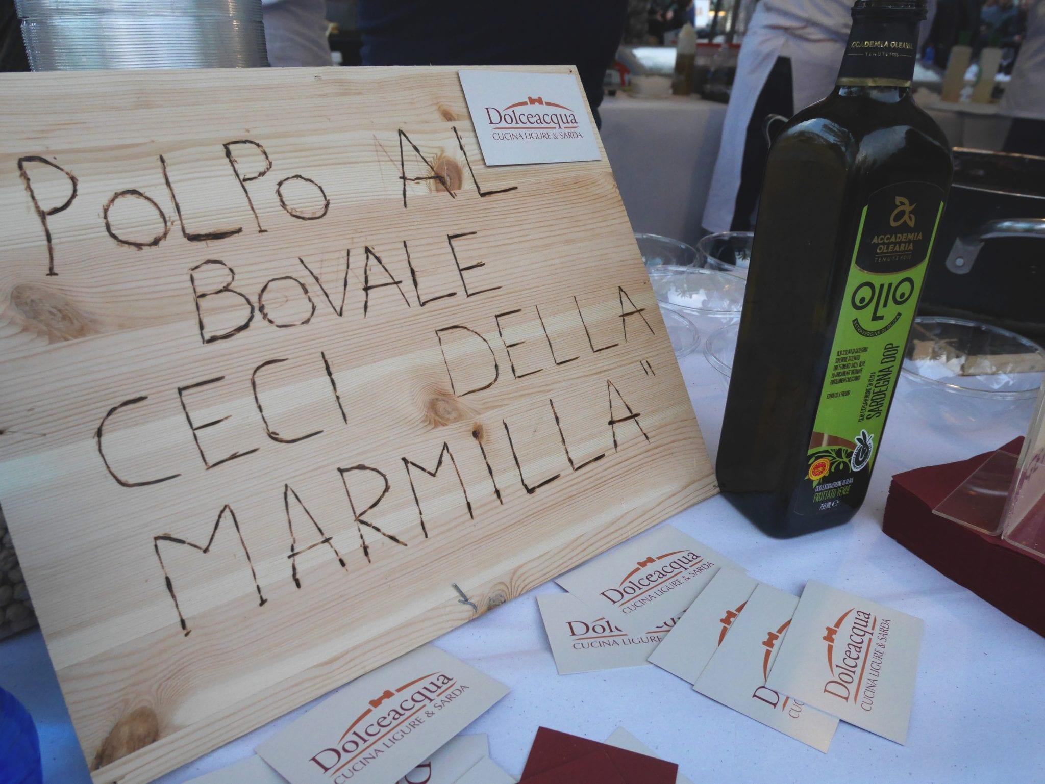 cartello Degustibus Poetto - LePlume
