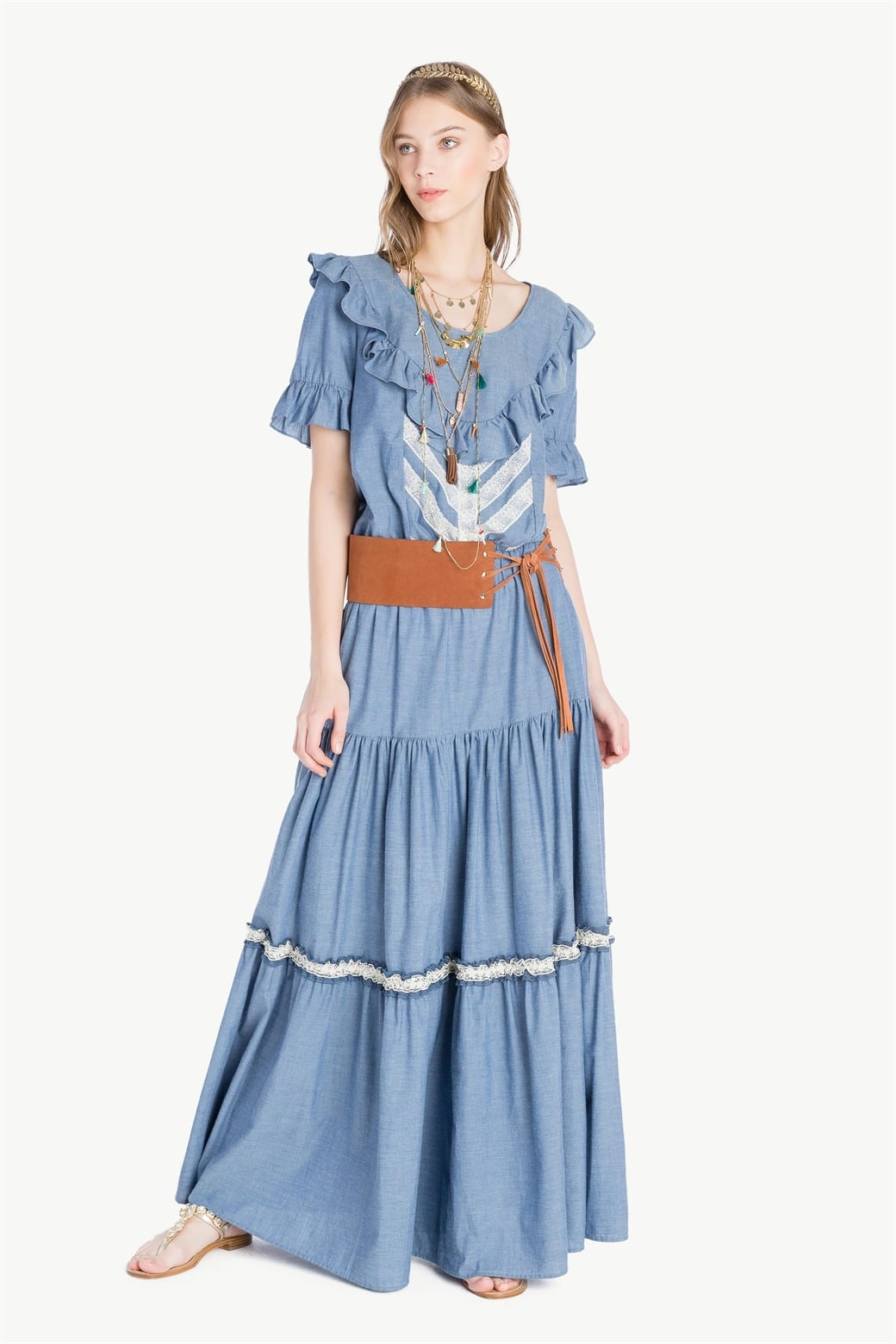 gonne lunghe - le plume twinset