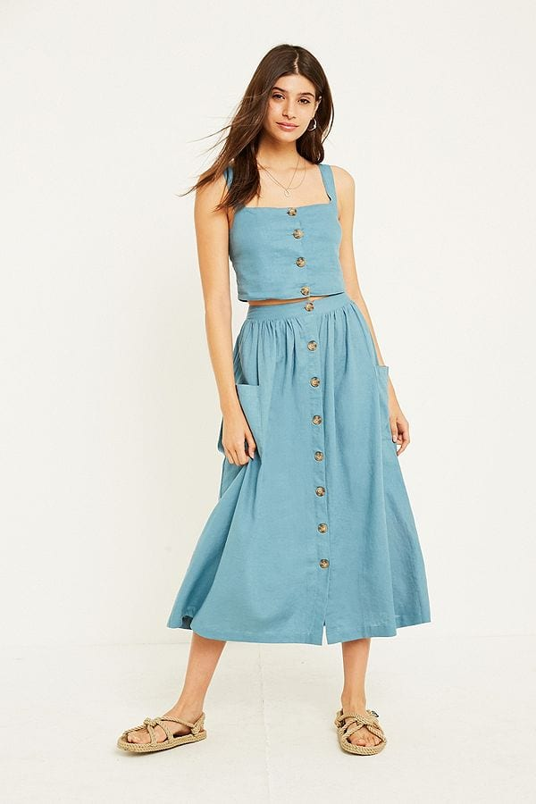 gonne lunghe - le plume urban outfitters