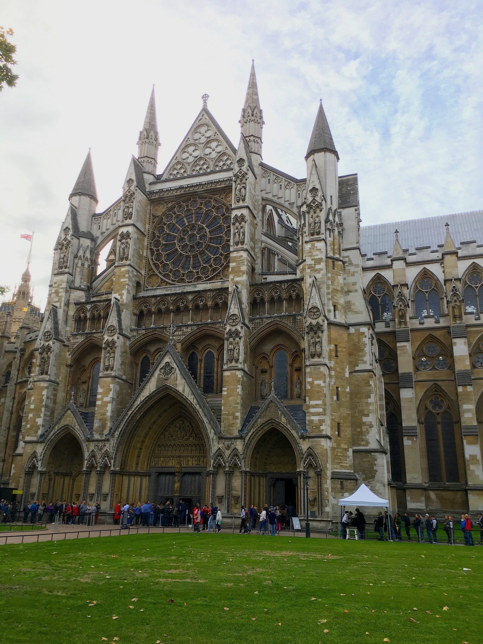 Abbazia Westminster particolare Prima volta a Londra - Le Plume