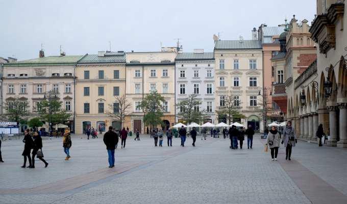 Cracovia Piazza del Mercato - Cracovia Le Plume