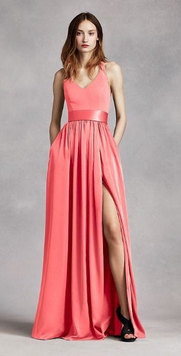wedding living coral - le plume