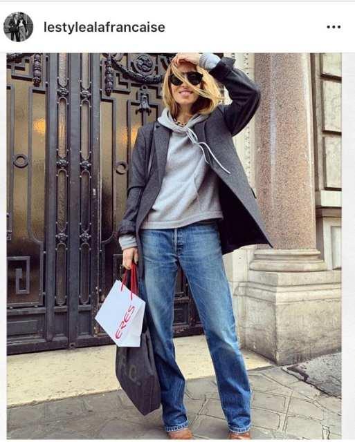 blazer felpa - lo stile alla francese - Le Plume