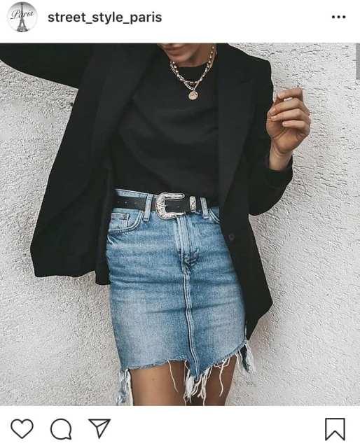 blazer e jeans - lo stile alla francese - Le Plume