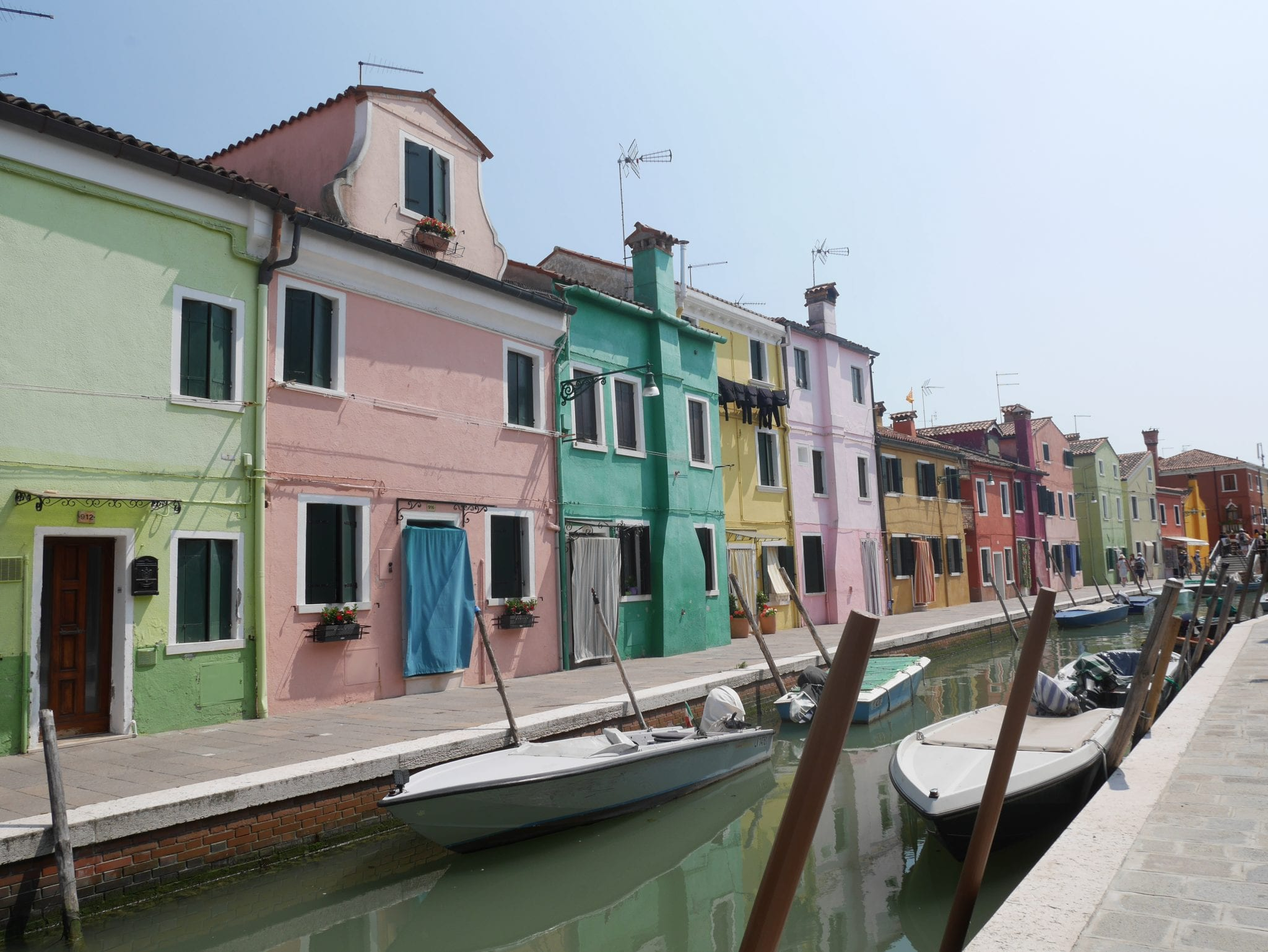 Canale - Burano - Le Plume