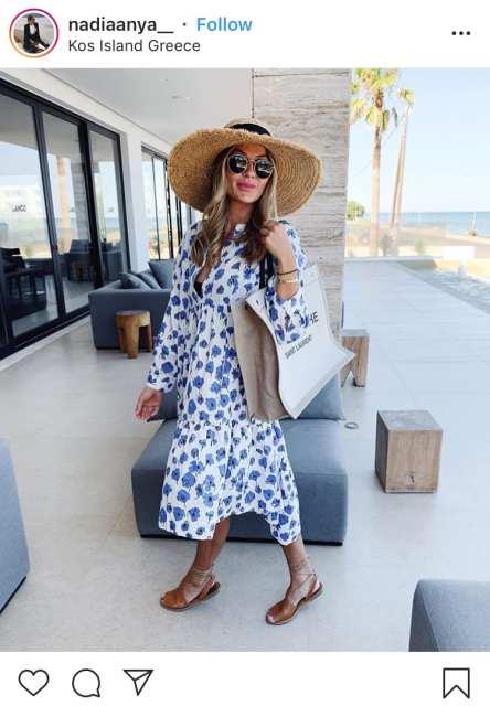 Maxi dress fantasia - trend estivi - Le Plume