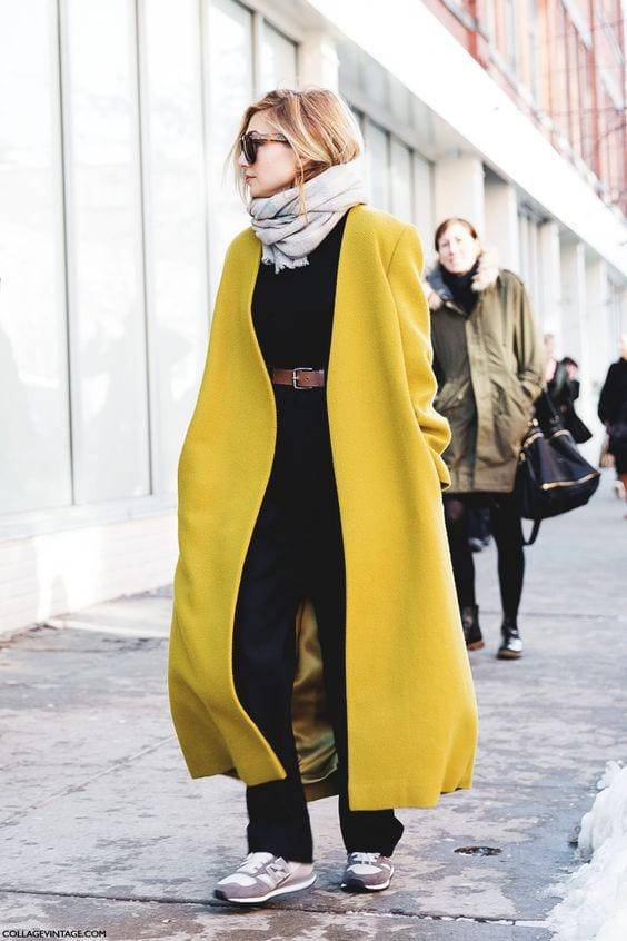 Stateman-coat-Cappotto-Lungo-giallo-Le-Plume