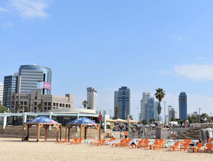 Tel Aviv - grattacieli lungomare - Israele Le Plume