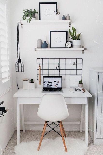 Scrivania ispirazione - Smart working Le Plume
