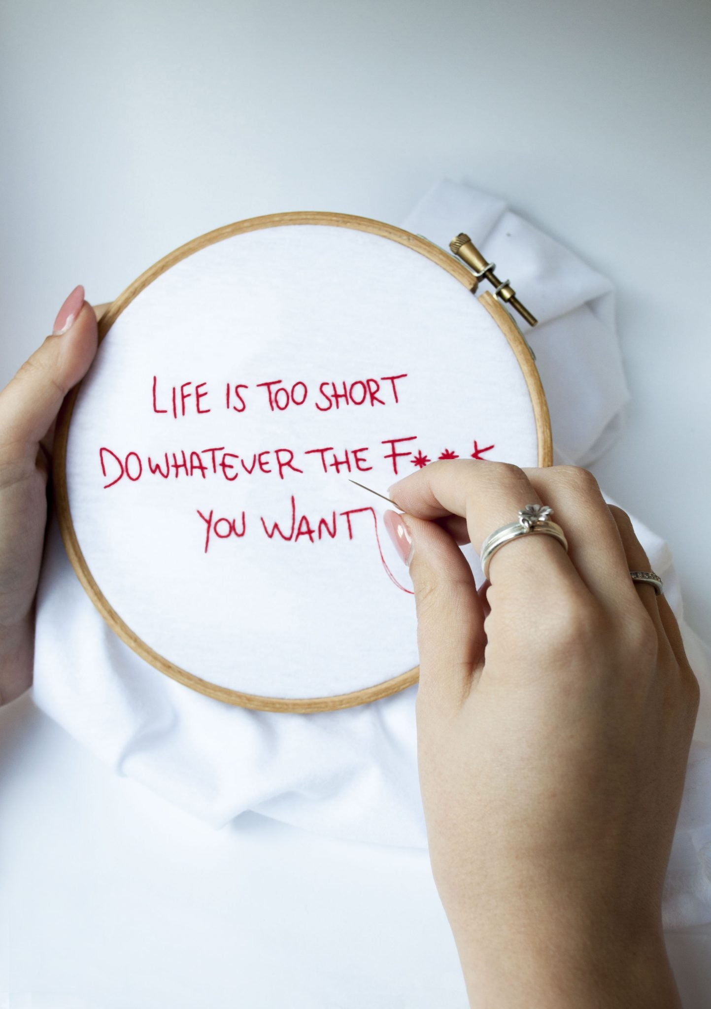 Libera Design - t shirt life is too short - LePlume