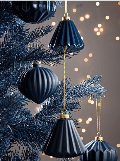 Blu decorazione - I colori del Natale - Le Plume