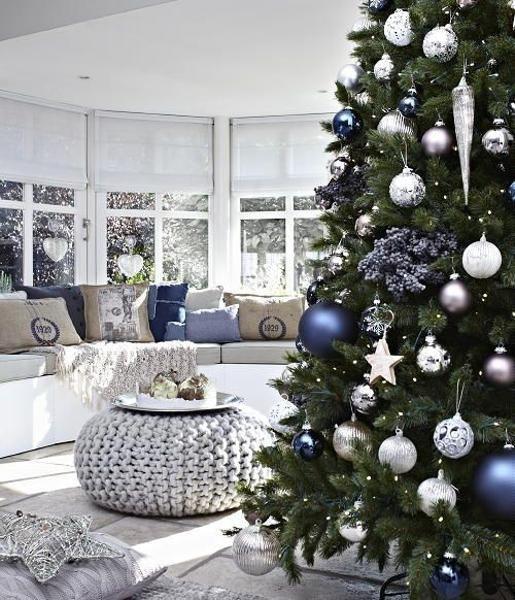 blu albero - I colori del Natale - Le Plume