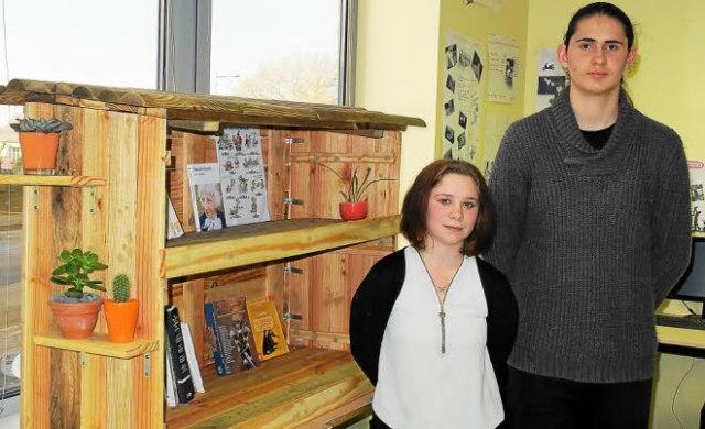 Un projet de cabanes à livres porté par deux jeunes