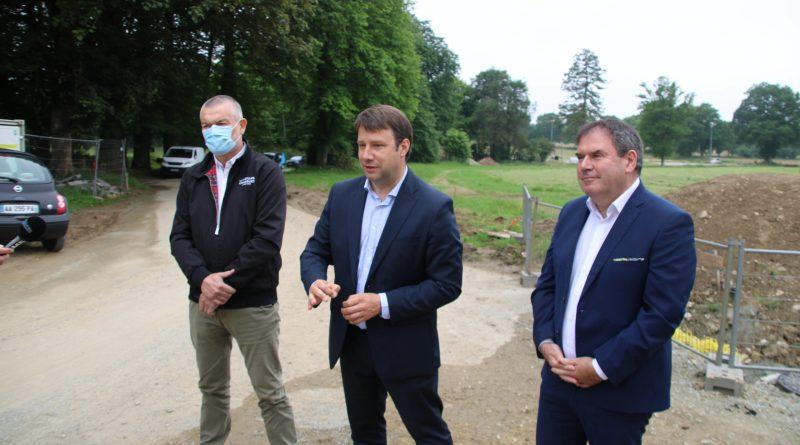 Un pacte pour le futur Breizh park de Kerampuilh à Carhaix