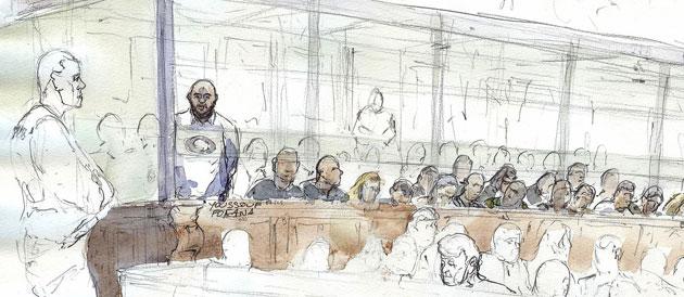 Après son lancer de chaussures sur les parties civiles, Fofana refuse de se présenter à son procès