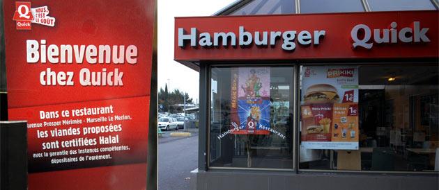 HAMBURGERS - Tout-halal, pratiques commerciales et règles publiques