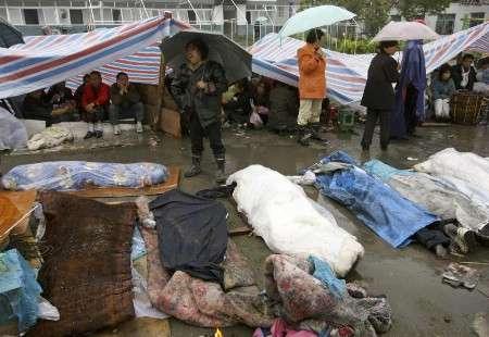 Le bilan du séisme en Chine dépasse les 13 000 morts