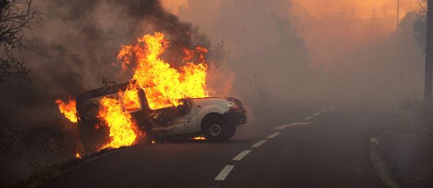INCENDIES DANS LE SUD - Situation sous contrôle, 3.000 ha ravagés