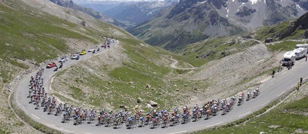 TOUR DE FRANCE 2011 - Le Galibier pour sommet