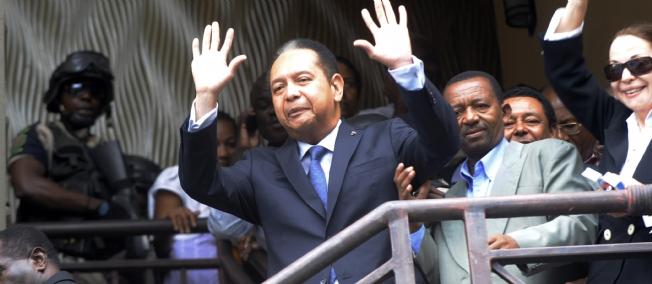 """Duvalier espère être élu """"président"""" d'Haïti"""