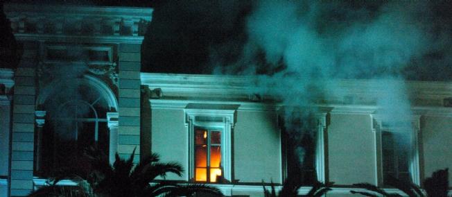 De l'électricité pour venir à bout des incendies
