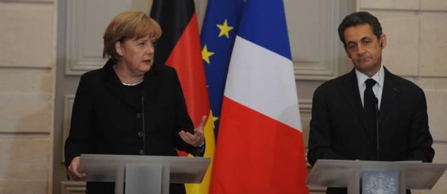 Angela Merkel et Nicolas Sarkozy sont placés sous surveillance.