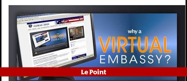 """Le lancement d'une ambassade sur le Web va """"permettre d'établir désormais un dialogue direct avec les citoyens iraniens"""", explique Hillary Clinton."""