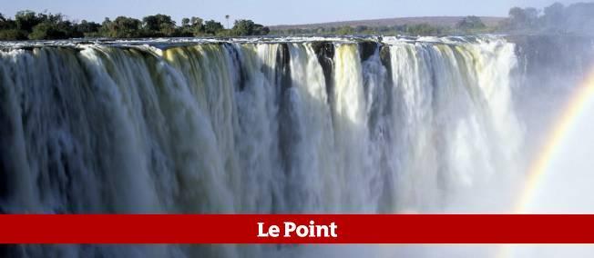 La jeune femme s'en est sortie après une chute dans les rapides du fleuve Zambèze.