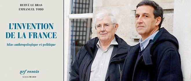 Hervé Le Bras et Emmanuel Todd ont également publié ensemble Le Mystère Français, en 2013.