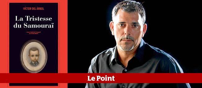 """Victor del Arbol a reçu le Prix du Polar européen 2012 pour """"La tristesse du Samouraï"""", (éditions Actes, Sud)."""