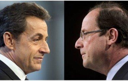 François Hollande est crédité de 55% des intentions de vote au second tour de l'élection présidentielle, soit dix points d'avance sur Nicolas Sarkozy (45%), selon un sondage TNS Sofres/Sopra Group pour iTélé publié jeudi.
