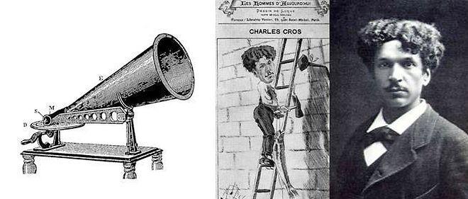 30 avril 1877. Le poète Charles Cros invente le phonographe avant Thomas Edison.