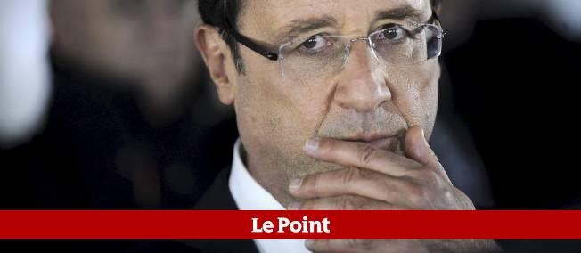 72 % des personnes interrogées pensent que François Hollande est inactif face à la crise.