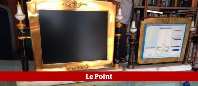 Un très bel ordinateur Louis XV.