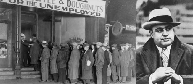 Al Capone et sa soupe populaire.