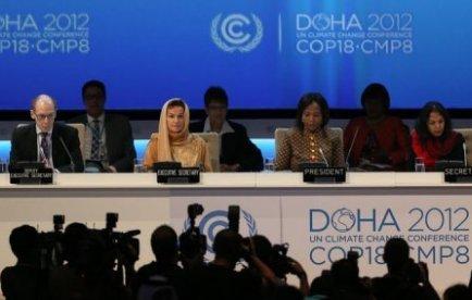 """Europe-Ecologie-Les Verts (EELV) a déclaré lundi craindre que la conférence de Doha (Qatar) sur le climat soit """"un nouvel échec et qu'aucun accord n'y intervienne quant à l'avenir du protocole de Kyoto""""."""