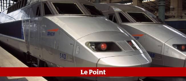 Un TGV dans la gare de Lyon.