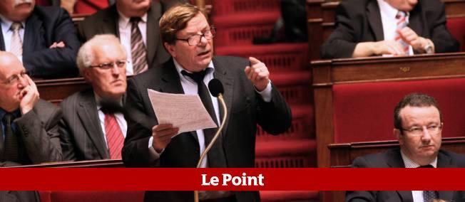 Pierre Gosnat à l'Assemblée nationale, ici le 8 décembre 2009.
